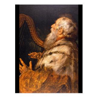 King David', Sir Peter Paul_Dutch Masters Postcard