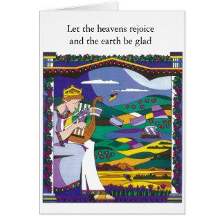King David's Song Greeting Card