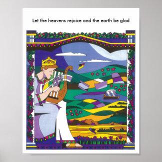 King David's Song Poster