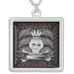 king death mourning pendant