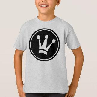 King Design T-Shirt Kids Tagless Comfort