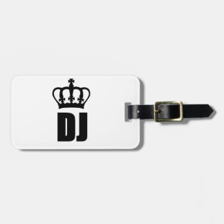 King Dj Tag For Bags