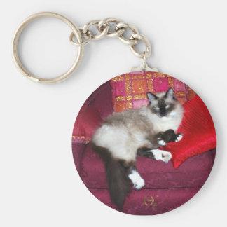 King Dougal Basic Round Button Keychain