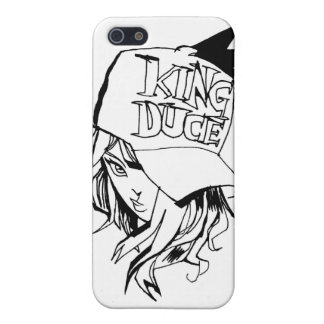 King Duce Girl iPhone 5 Cases