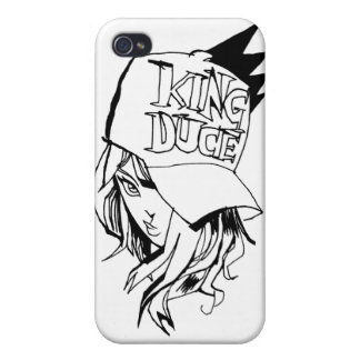 King Duce Girl iPhone 4 Cover