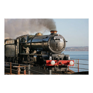King Edward 1 Steam Engine Print
