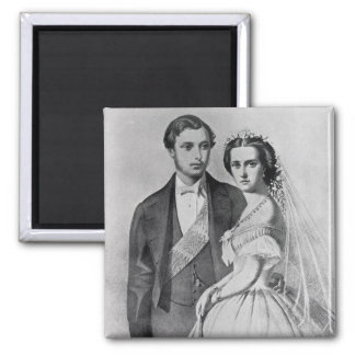 King Edward and Queen Alexandra Magnet