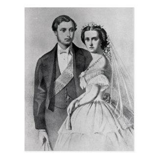 King Edward and Queen Alexandra Postcard