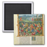 King Edward III Waging War at the Battle of Magnets