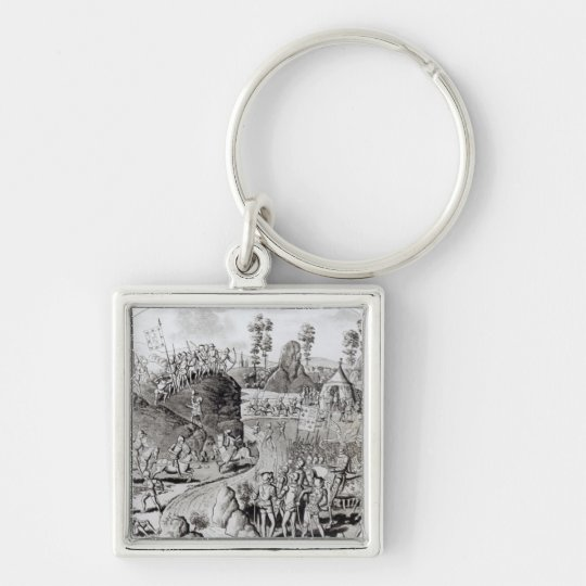 King Edward I's  First Expedition Keychain