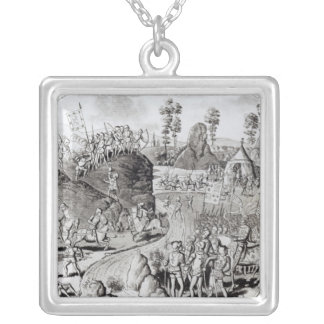 King Edward I's  First Expedition Silver Plated Necklace