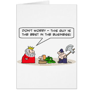 king executioner axe best business greeting cards