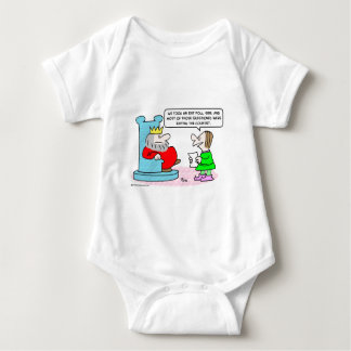 king exit poll country baby bodysuit