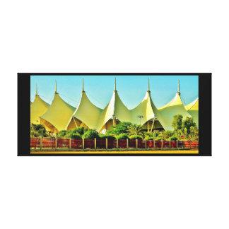 King Fahad Stadium Canvas Print