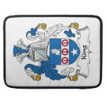 King Family Crest MacBook Pro Sleeves