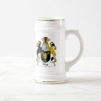 King Family Crest Mugs