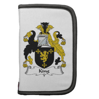 King Family Crest Planners
