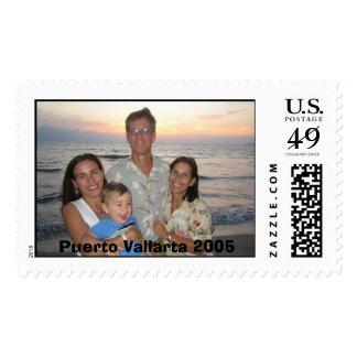 King family shot Puerto Vallarta 2005 Postage