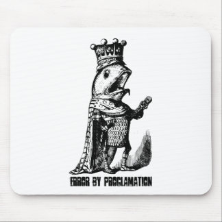 King fish:  Error by Proclamation Mouse Pad