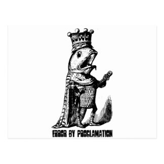 King fish:  Error by Proclamation Postcard
