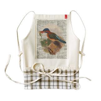 King Fisher bird Zazzle HEART Apron