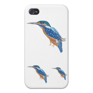 King Fisher  BLUE iPhone 4 Case