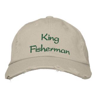King Fisherman Embroidered Baseball Hat