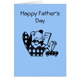 King for the Day Father's Day Card
