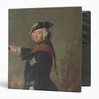 King Frederick II the Great of Prussia  1746 3 Ring Binder
