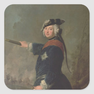 King Frederick II the Great of Prussia  1746 Sticker