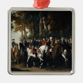 King Frederick II's return from Preussen von Metal Ornament