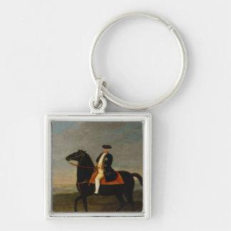 King Frederick William I on Horseback Keychain