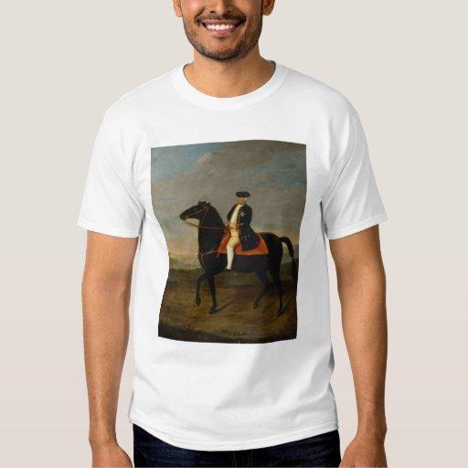 King Frederick William I on Horseback Tee Shirts