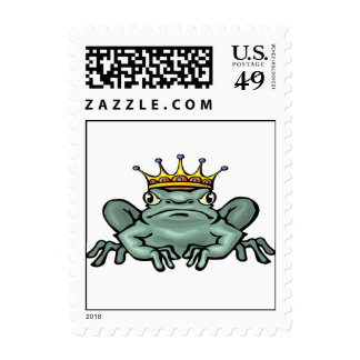 King Frog Stamps