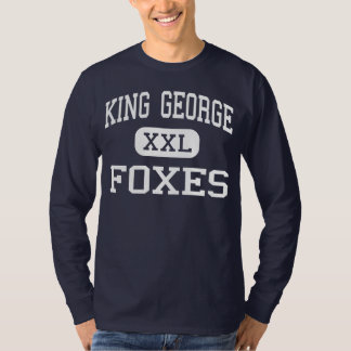 King George Foxes Middle King George Tee Shirt