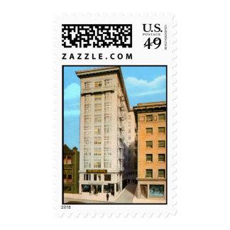 King George Hotel Postage Stamp