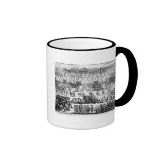 King George I procession to St. James's Palace Ringer Coffee Mug