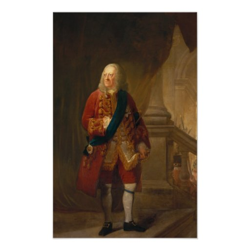 King George II, 1759 Print