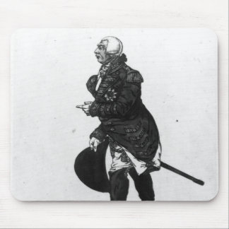 King George III, aged 72, 1810 Mouse Pad