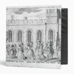King George III and Queen Charlotte Vinyl Binder