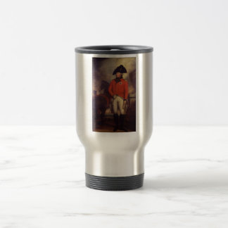 King George III by Sir William Beechey 15 Oz Stainless Steel Travel Mug