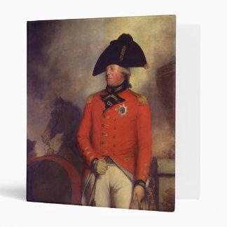 King George III by Sir William Beechey 3 Ring Binder
