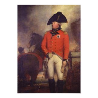 King George III by Sir William Beechey 5x7 Paper Invitation Card