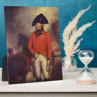 King George III by Sir William Beechey Plaque