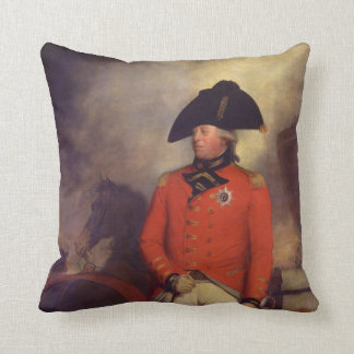 King George III by Sir William Beechey Throw Pillow