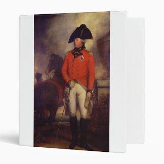 King George III in 1799 by Sir William Beechey 3 Ring Binder