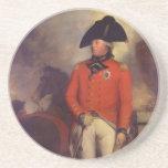 King George III in 1799 by Sir William Beechey Drink Coaster