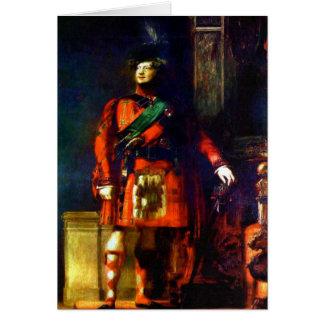 'King George IV Visits Scotland' Card