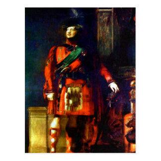 'King George IV Visits Scotland' Postcard