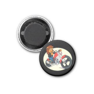 King George Motorcycle Magnet